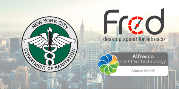 NYC Department of Sanitation - New Alfred Desktop Customer Image