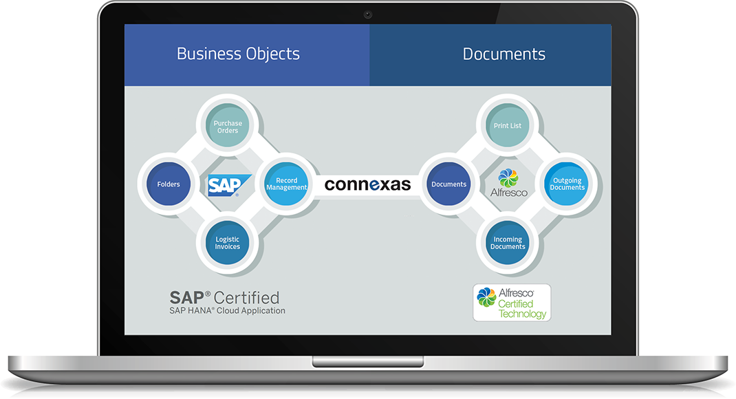 Connexas - Linking Alfresco with SAP