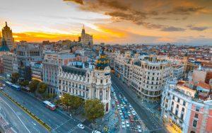 Alfresco day in Madrid